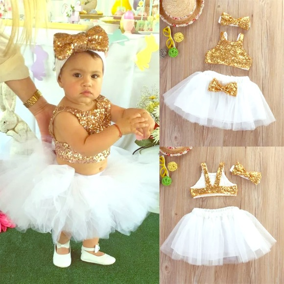 Baby 1st Birthday Outfit Dress